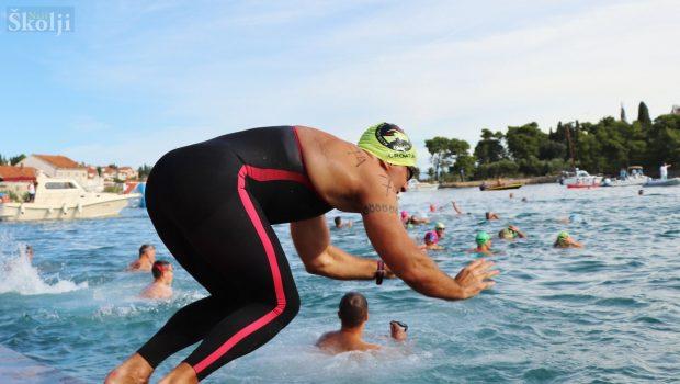 48. plivački maraton Preko -Zadar