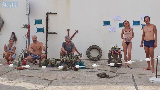 Preko: Eko-aktivisti i umjetnici upozorili na katastrofalno zagađenje podmorja