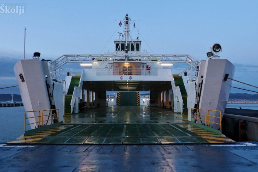 Od 31. kolovoza novi plovidbeni red na trajektnoj liniji Preko – Ošljak – Gaženica