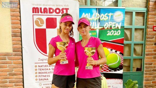NOVI USPJEH: Chiara Jerolimov zlatna u paru na Mladost Grill Openu u Zagrebu