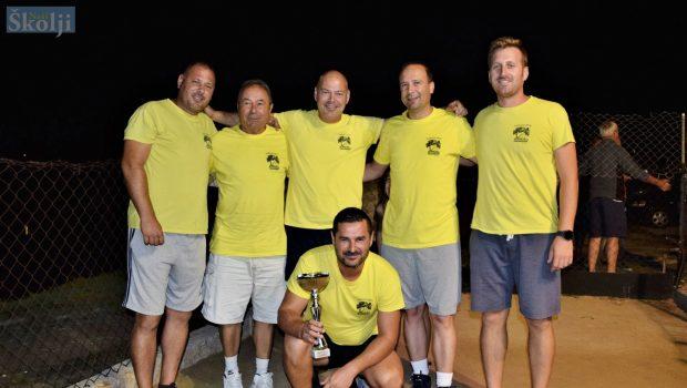 Ekipa Guduće ponovno osvojila Turnir u boćanju za muškarce u Ugljanu