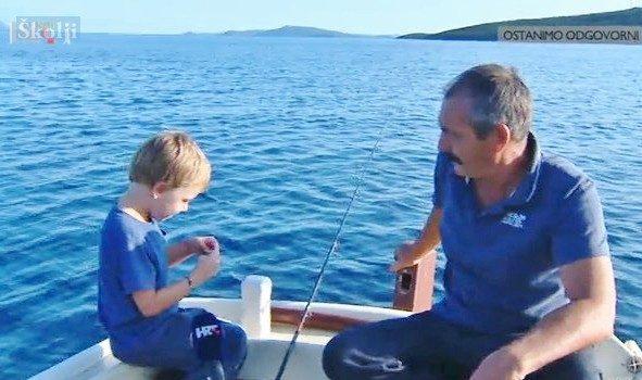 Šestogodišnji Ive Radulić s Rivnja kao od šale lovi zubace, lignje, arbune…