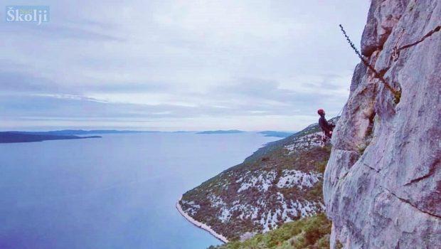 Penjačka sekcija PD Paklenica Zadar sanira sportsko penjalište Željina