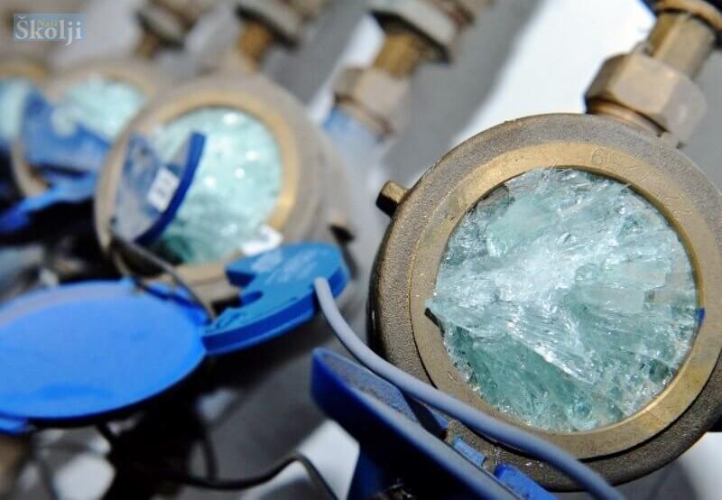 Zbog najave niskih temperatura zaštitite vodovodne cijevi i vodomjere!!!