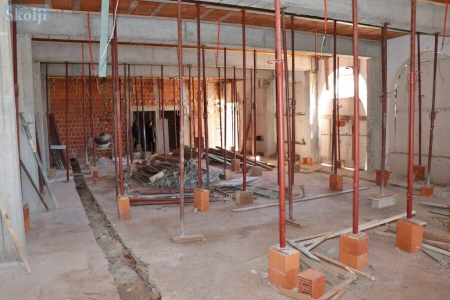 Pri kraju prva faza rekonstrukcije Društvenog doma u Ugljanu
