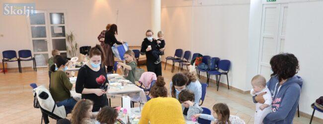Preko: Na uskrsnoj radionici zajedno uživali djeca i roditelji