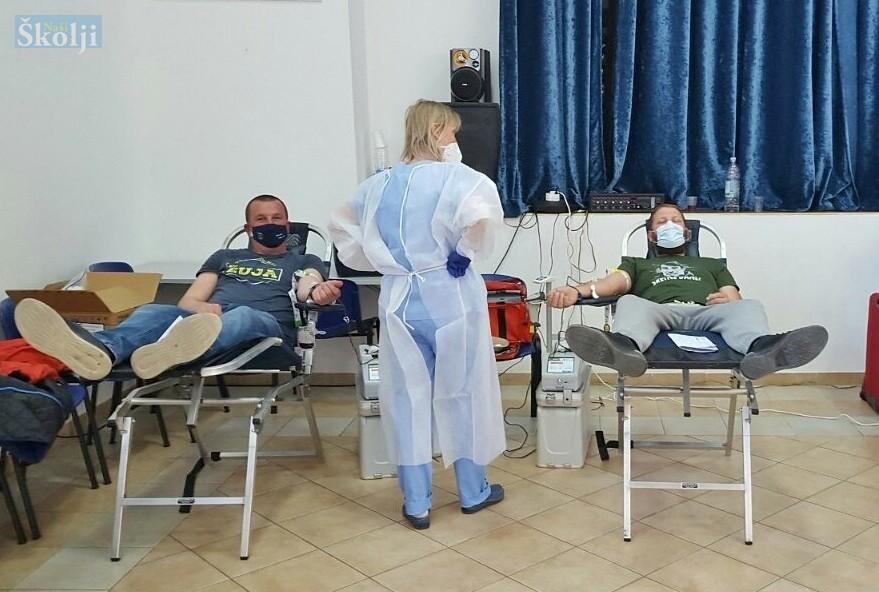 U prvoj ovogodišnjoj akciji članovi DDK Preko prikupili 20 doza krvi