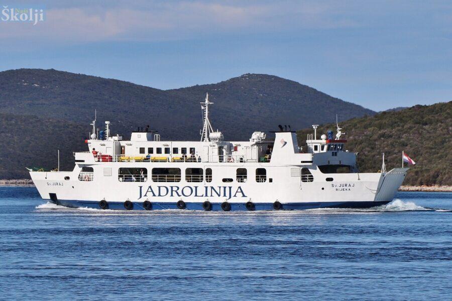 Umjesto Dore na liniji Zadar – Preko trajekt Sveti Juraj