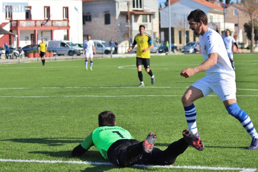 U osmini finala Županijskoga kupa Sv. Mihovil poražen od Pakoštana 3-1