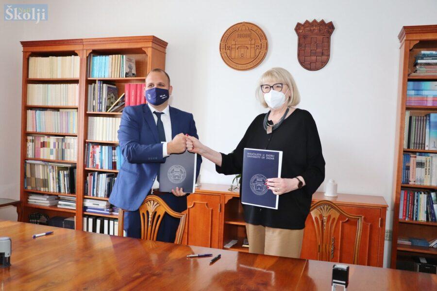 Općina Preko i Sveučilište u Zadru sklopili sporazum o osnivanju centra za otočane na Ošljaku