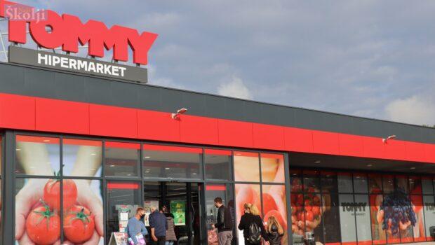 Otvorenje hipermarketa Tommy u Preku