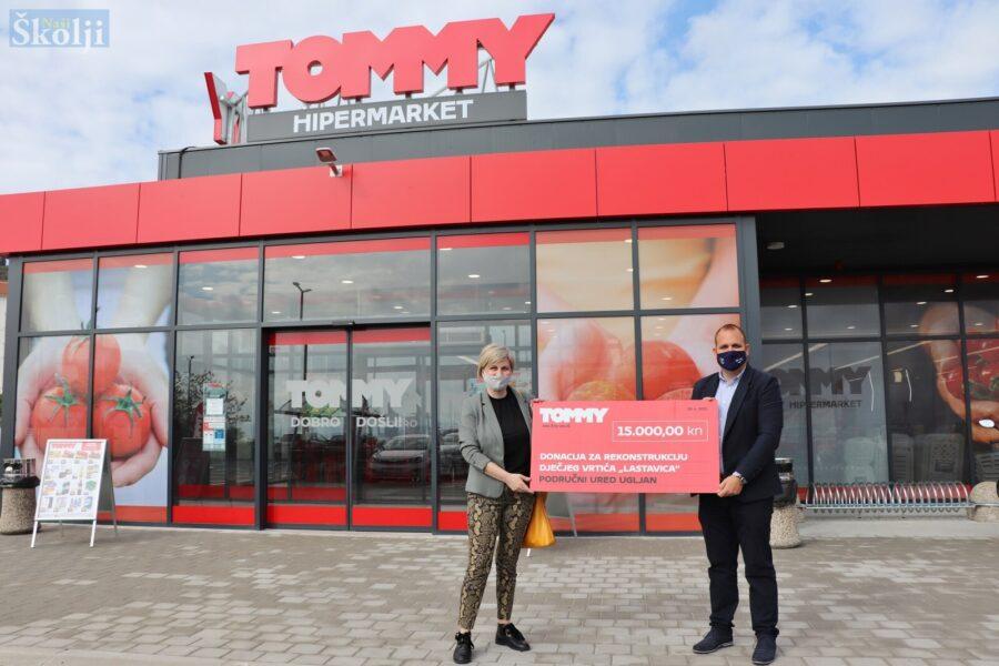 Tommy donirao 15.000 kuna za rekonstrukciju vrtića u Ugljanu