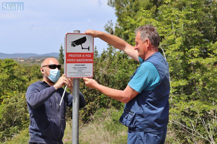 Općina Preko uvodi videonadzor zbog bacanja smeća u okoliš