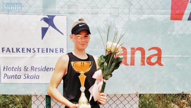 Chiara Jerolimov državna prvakinja u tenisu do 16 godina!