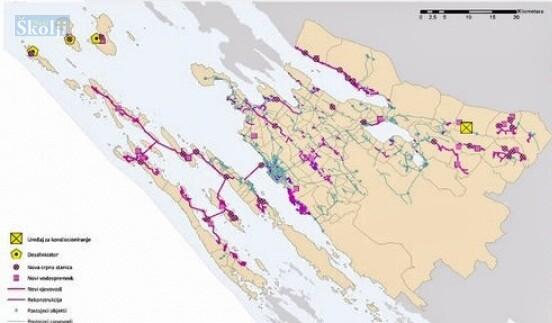 Predstavljen projekt razvoja sustava vodoopskrbe zadarskih otoka i zaleđa