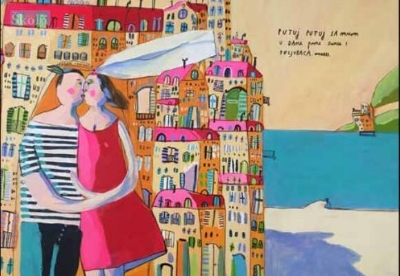 Umjetnica Ana Kolega izlaže u galeriji Dom na žalu
