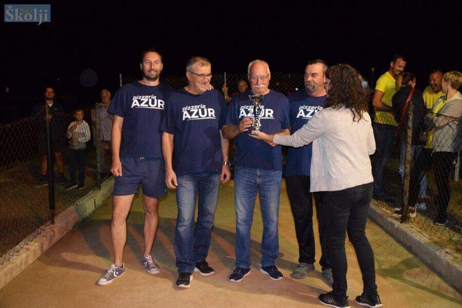 Ugljan: Ekipa Centar pobjednik turnira u boćanju za muškarce