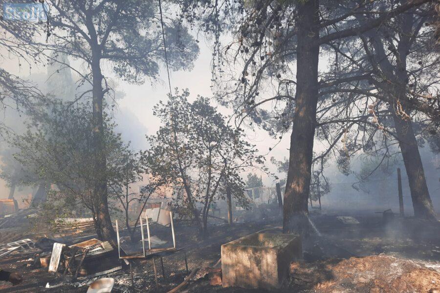 Policija pokreće istragu nakon požara kod Psihijatrijske bolnice Ugljan