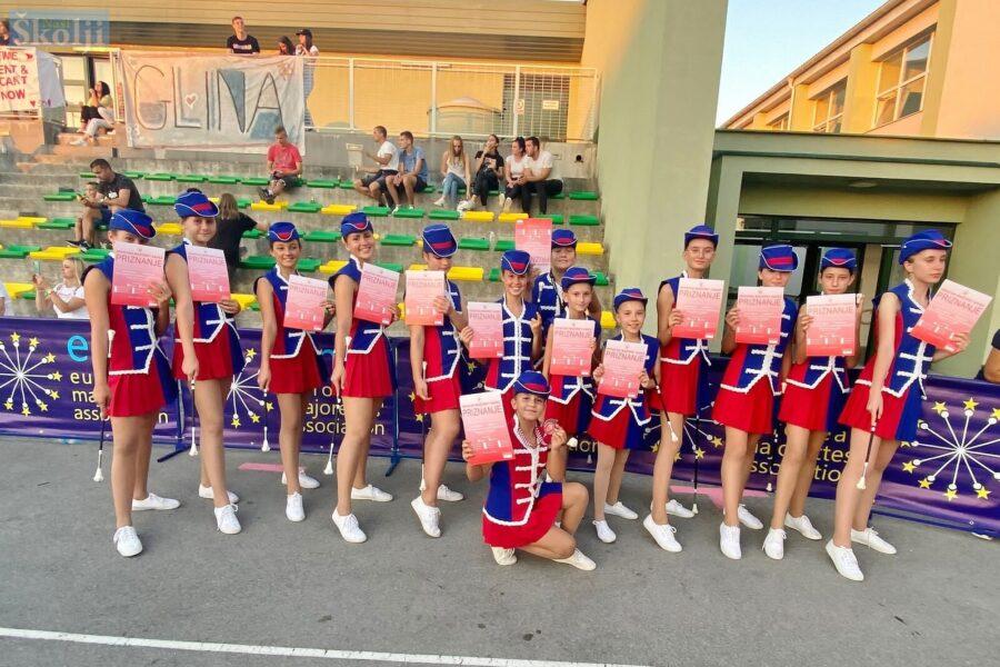 Otočne mažoretkinje uspješne na Državnom prvenstvu u Glini